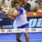 Raúl Marcos, en el Estrella Damm Valencia Open