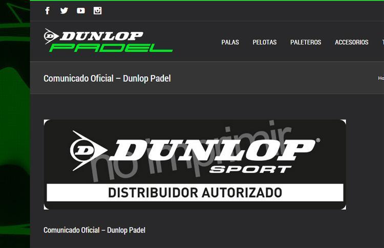 Logo Distribuidor Autorizado Dunlop