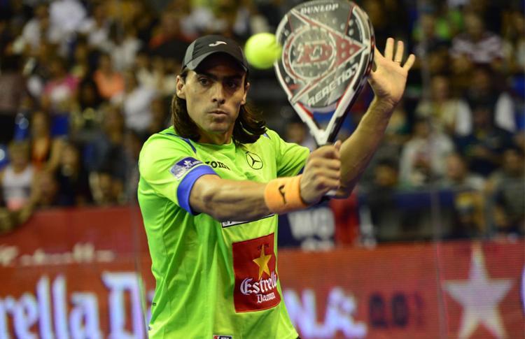 Juani Mieres, en el Estrella Damm Tenerife Open