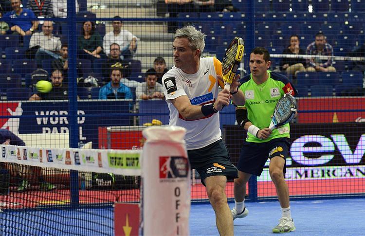 Miguel Lamperti y Maxi Grabiel, en el Estrella Damm Valencia Open