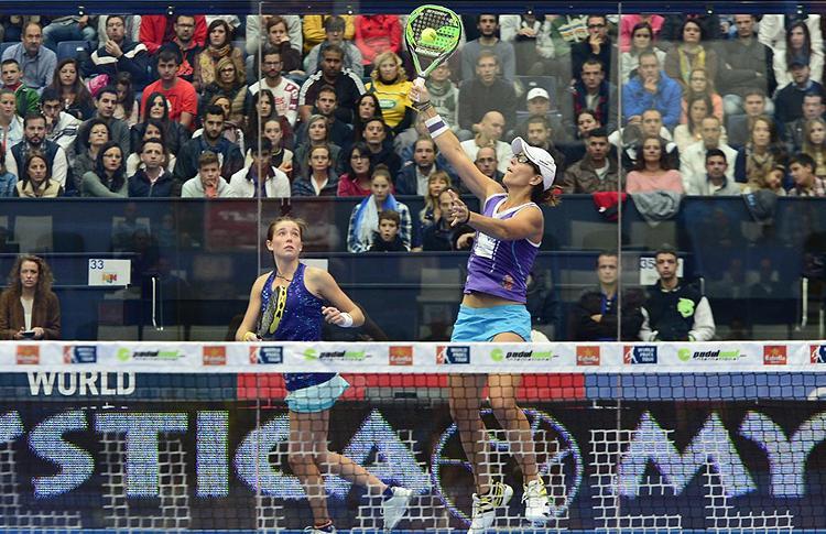 Marta Ortega-Lucía Sainz, en el Estrella Damm Valencia Open