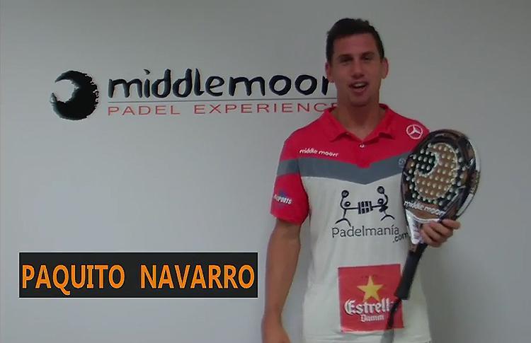 Paquito Navarro presenta su pala en Edición Limitada
