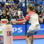 Paquito Navarro y Maxi Grabiel, en el Estrella Damm Valencia Open