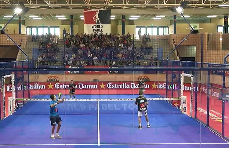 Partido de semifinales del Estrella Damm San Fernando Open
