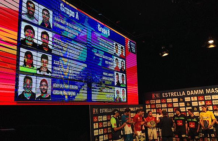 Cruces Masculinos del Estrella Damm Másters Finals 2014