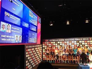 Cruces Femeninos del Estrella Damm Másters Finals 2014