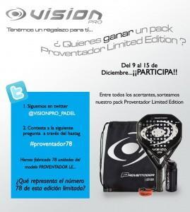 Sorteo Pack Proventador Edición Limitada