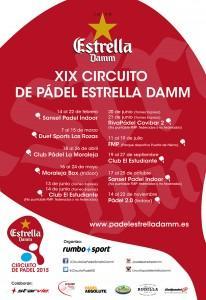 Calendario Oficial Circuito Estrella Damm 2015