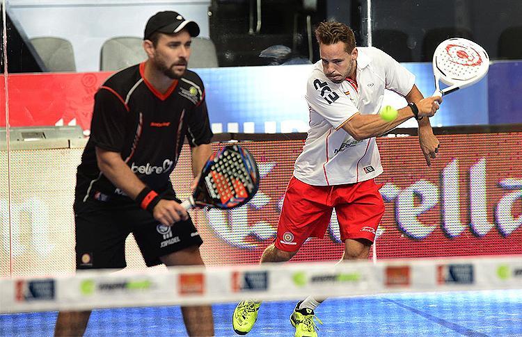 Aday Santana y Jordi Muñoz, integrantes del equipo Estrella Damm
