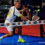 Miguel Lamperti, en acción en el Palma de Mallorca Open