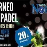 Cartel del Torneo de Time2Pádel en Pádel Norte