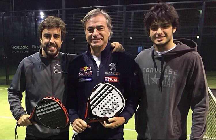 Fernando Alonso, Carlos Sainz y Carlos Sainz Jr, grandes fichajes de Adidas