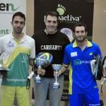 Sergio Alba y Kike Lagarejos, ganadores de la primera prueba del Circuito Green Pádel