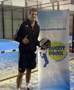 Javier Concepción, otro gran fichaje para el equipo de EventPádel