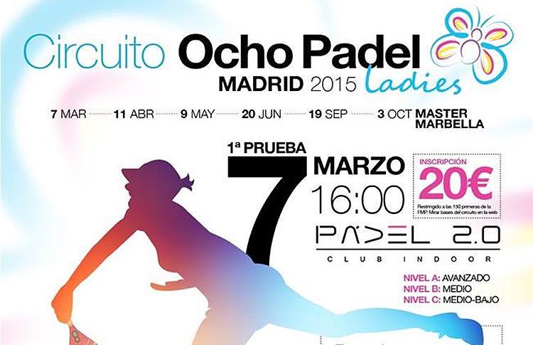 Primera prueba del Circuito OchoPádel Madrid Ladies