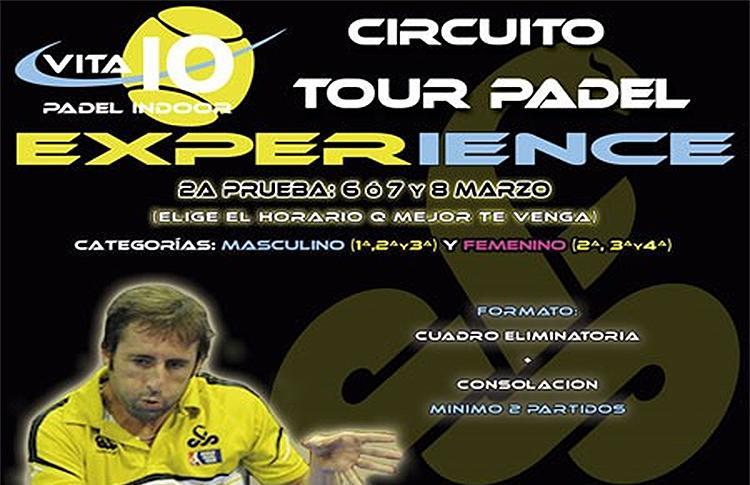 Tour Pádel Experience en Vita10