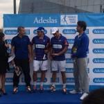Presentazione del contratto Adeslas con World Paddle Tour