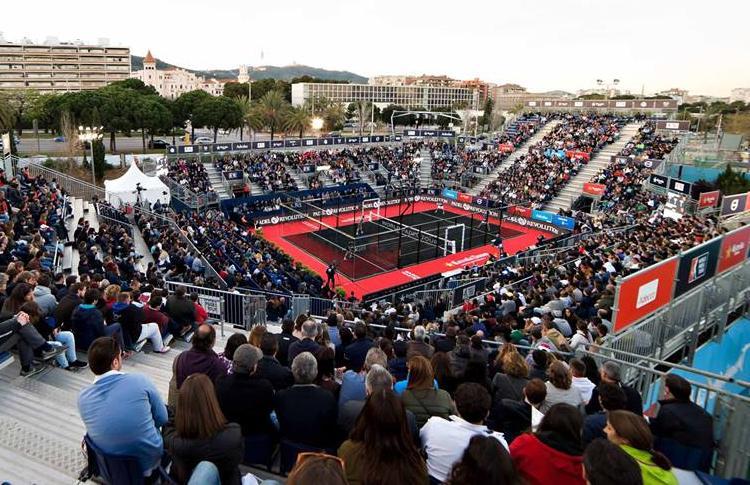 Inizia la finale del Master di Estrella Damm Barcelona