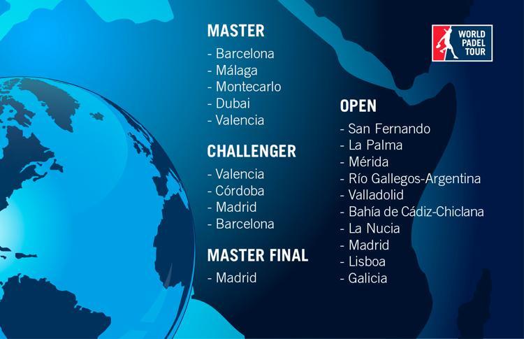 Calendario World Padel Tour.The Arrival In Dubai And The Incursion Of New Venues Great