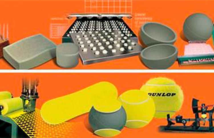 Dunlop nos cuenta cómo se fabrica una pelota de pádel