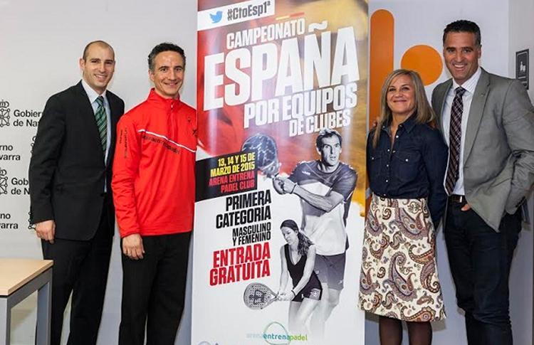 Presentación del Campeonato de España por Equipos de 1ª Categoría