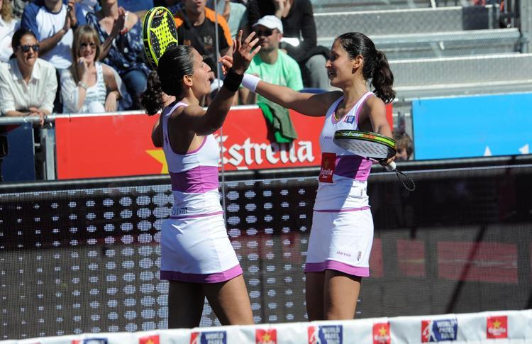 Mapi y Majo Sánchez Alayeto ganan el Estrella Damm Barcelona Máster