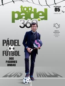 Luis Milla, portada de TopPadel 360