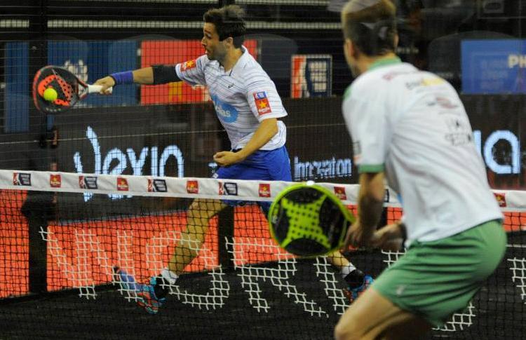 Fernando Belasteguín, en el Estrella Damm La Palma Open