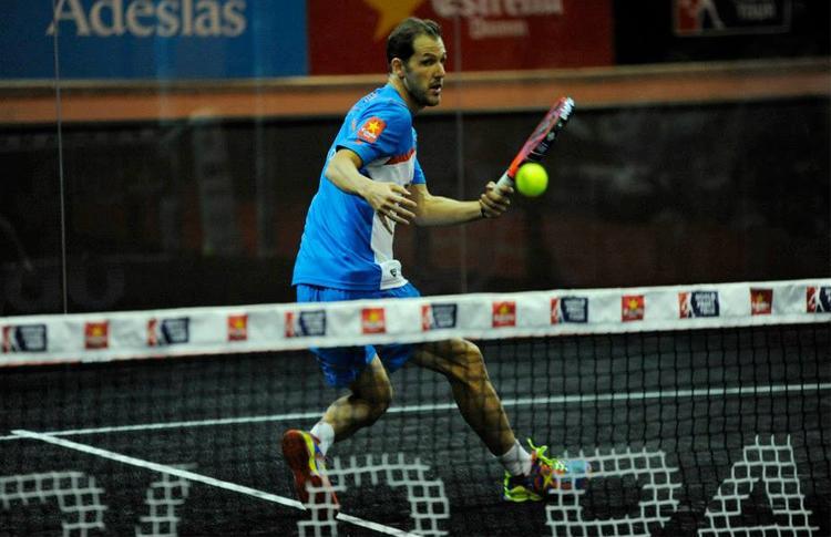Juan Martín Díaz, en el Estrella Damm San Fernando Open
