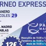Torneo Express de Time2Pádel en Pádel Madrid Las Tablas