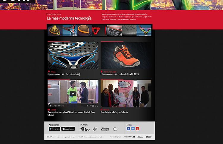 Bullpadel présente son nouveau site web