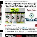 Entrevista a Winball en el diario Marca