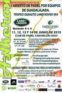 I Torneo por Equipos organizado por Pádel Cabanillas Golf