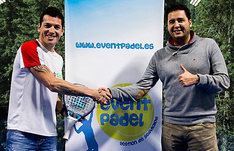 Tito Allemandi y Rubén Galán, partes del equipo de EventPádel