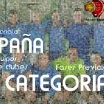 Clasificación para el Campeonato de España de 3ª Categoría por Equipos