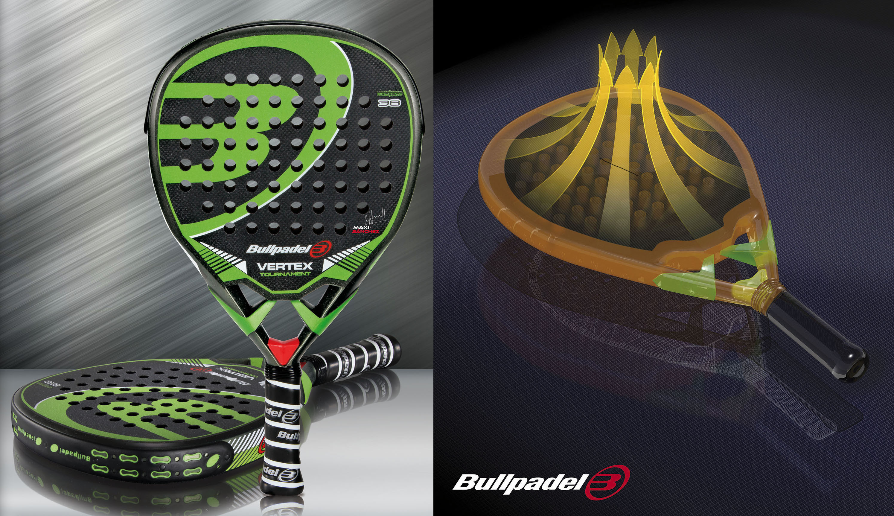 Factura Cha voluntario  Vertex: Bullpadel's bet for 2015, more closely | Padel World Press 2021