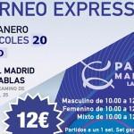Torneo Expréss de Time2Pádel en Pádel Madrid La Moraleja