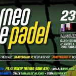 Cartel del Torneo de Time2Pádel en La Solana