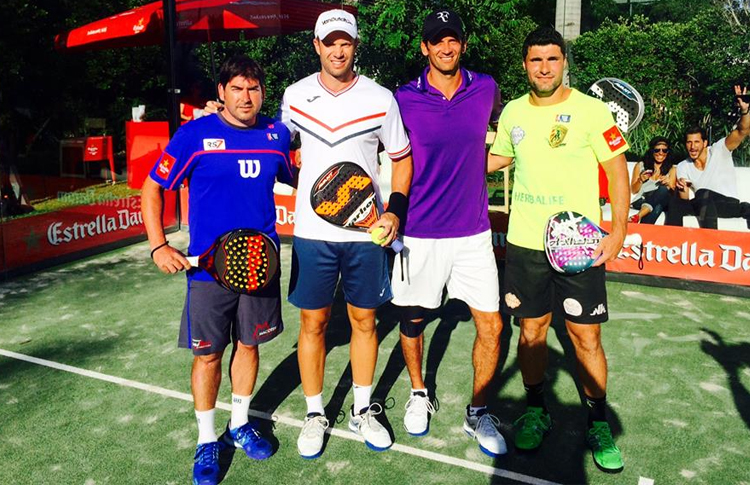 Foto de grupo de la 2nd International Padel Exhibition