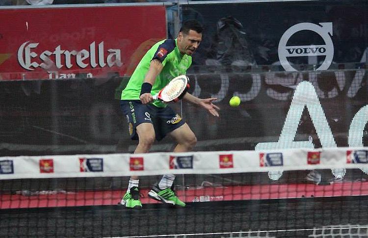 Tito Allemandi, en el Estrella Damm Valladolid Open