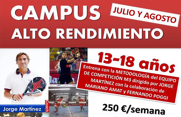 Manifesto dell'Alto Rendimieto Summer Campus organizzato da M3