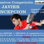 Cursos Intensivos de Javier Concepción em La Solana