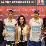 Fernando Belasteguín y Pablo Lima, ganadores del Río Gallegos Open