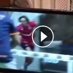 Godo Díaz rompe un cristal en Rio Gallegos Argentina Open