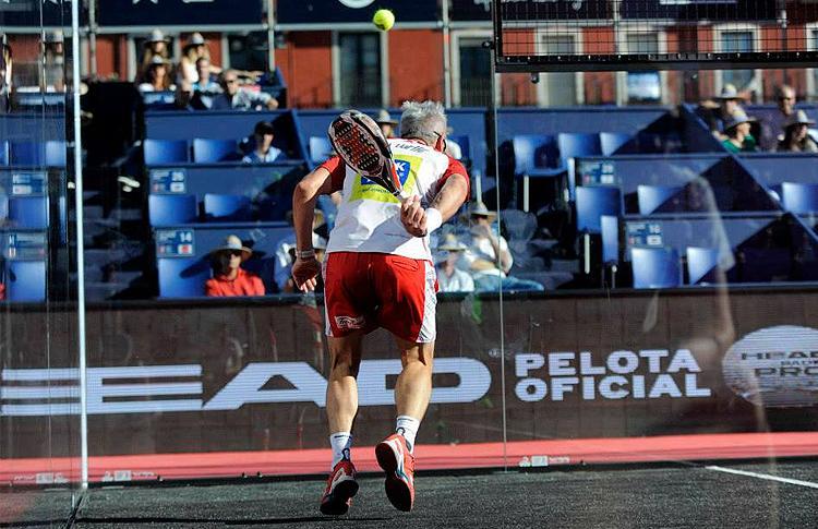 Miguel Lamperti, en el Estrella Damm Valladolid Open
