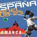 Cartel del Campeonato de España Sub'23