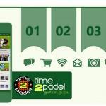Time2Pádel comienza a buscar a los integrantes de sus equipos