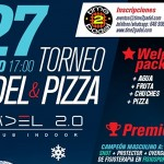 Cartel del Torneo de Time2Pádel en Padel 2.0