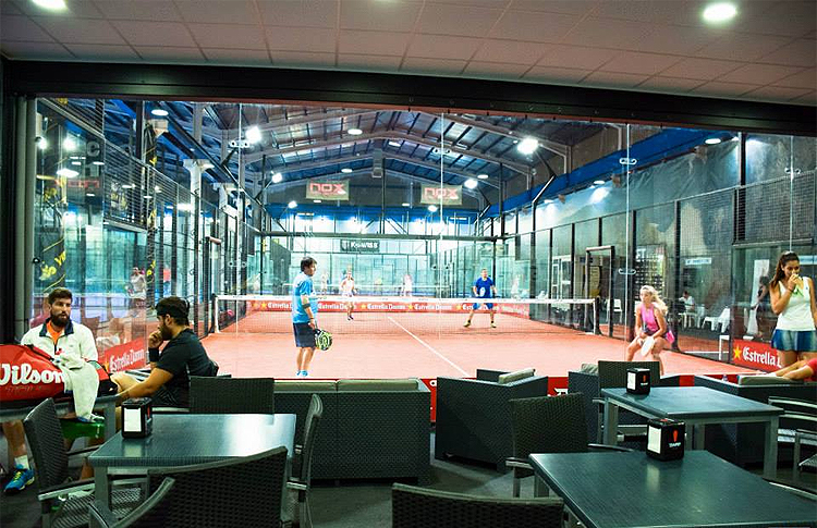Photo du tournoi Paddle A-Tope dans le Padel Indoor GET