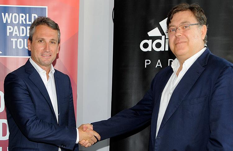 Importante acuerdo de colaboración entre Adidas y World Pádel Tour
